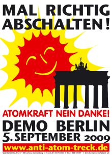 Anti-Atom-Treck nach Berlin