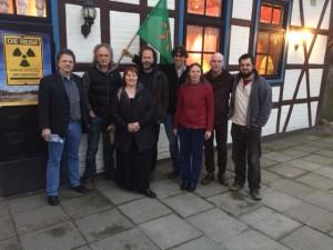 Der neue BI-Vorstand, auf dem Bild fehlt Birgit Fuhrmann
