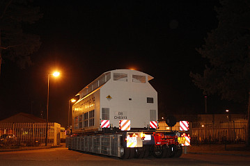 Nach 126 Stunden erreicht der 13. Castortransport nach Gorleben sein Ziel. Der Transport im November 2011 war der bis dato längste Atommülltransport überhaupt.