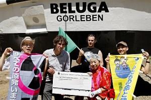 Juni 2013: Delegation japanischer Anti-Atom-Aktivisten in Gorleben