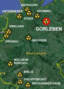 Absender von LAW-Atommüll seit 2008