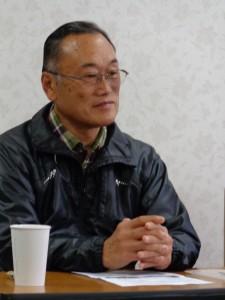 Mr. Hiroshi Kanno, Gemüsebauer aus Iitate