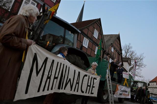 Demonstration anlässlich 3 Jahre Fukushima, 10.03.2014 - Dannenberg