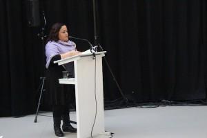 Claudia Goméz Godoy,Anwältin des Monsanto Tribunals, Plädoyer für eine gesunde Umwelt, das Recht auf Gesundheit und Nahrung
