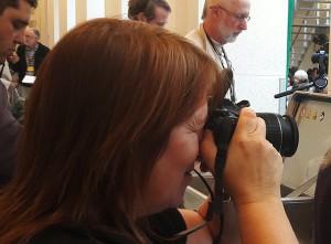 7) Kerstin Rudek, Bildberichterstatterin
