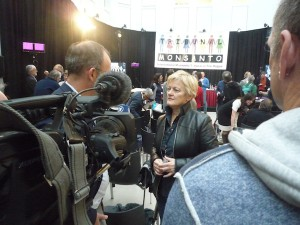 Renate Künast, Botschafterin des Monsanto Tribunals