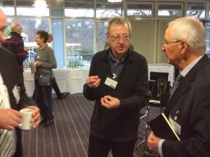 Prof. Dr. Töpfer im Gespräch mit Hartmut Liebermann