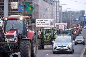 """Demonstration """"Wir haben es satt"""" fuer eine Agrarwende in Berlin"""