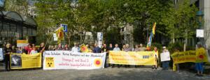 Foto Mahnwache Bonn 30.08.2018 privat (Chr.)