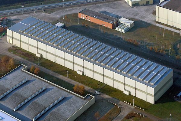 Luftaufnahme des Zwischenlagers für hochradioaktiven Atommüll in Gorleben.  Ort: Gorleben Copyright: Andreas Conradt Quelle: PubliXviewinG