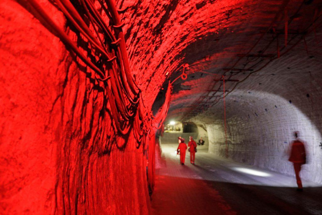 Unter Tage im Erkundungsbergwerk in Gorleben  Ort: Gorleben Copyright: Andreas Conradt Quelle: PubliXviewinG