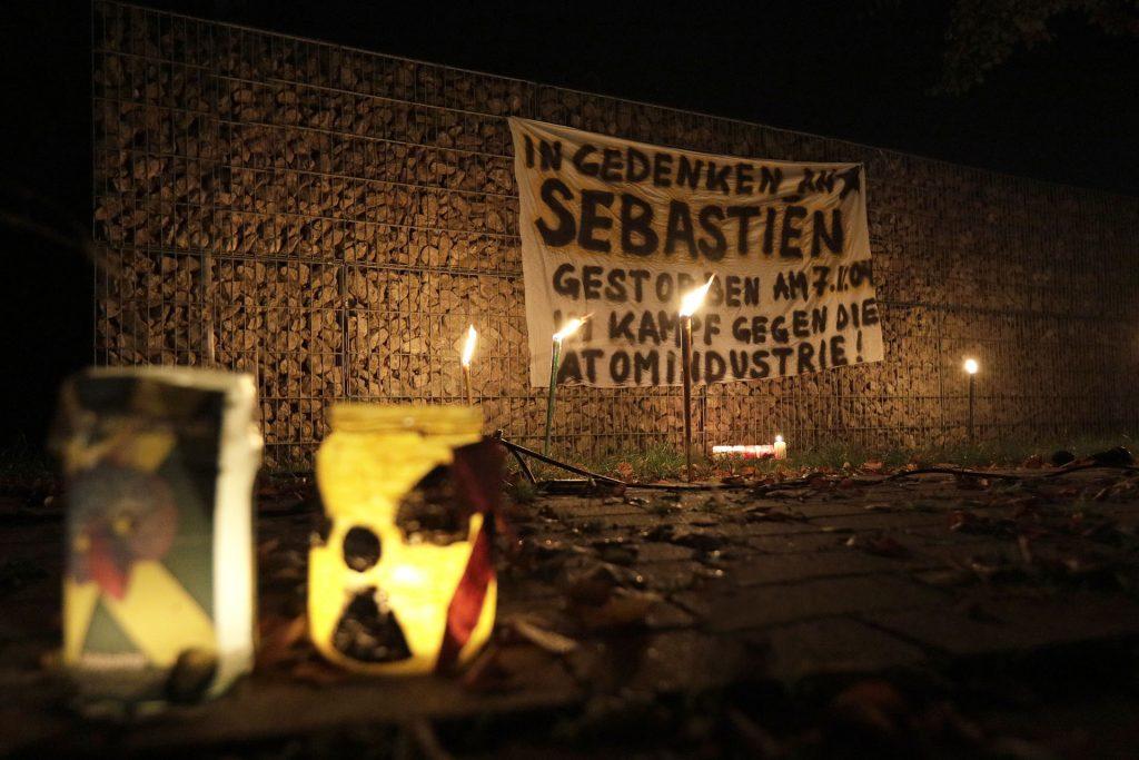 7.11.19, Dannenberg: Gedenken an Sebastien; Foto: publiXviewing
