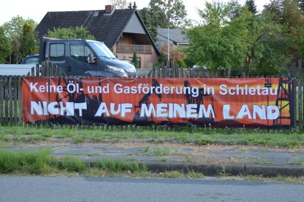 Foto Keine Öl- und Gasförderung