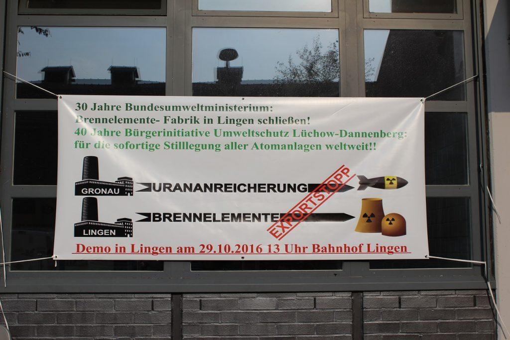 banner lingen und gronai exportstopp