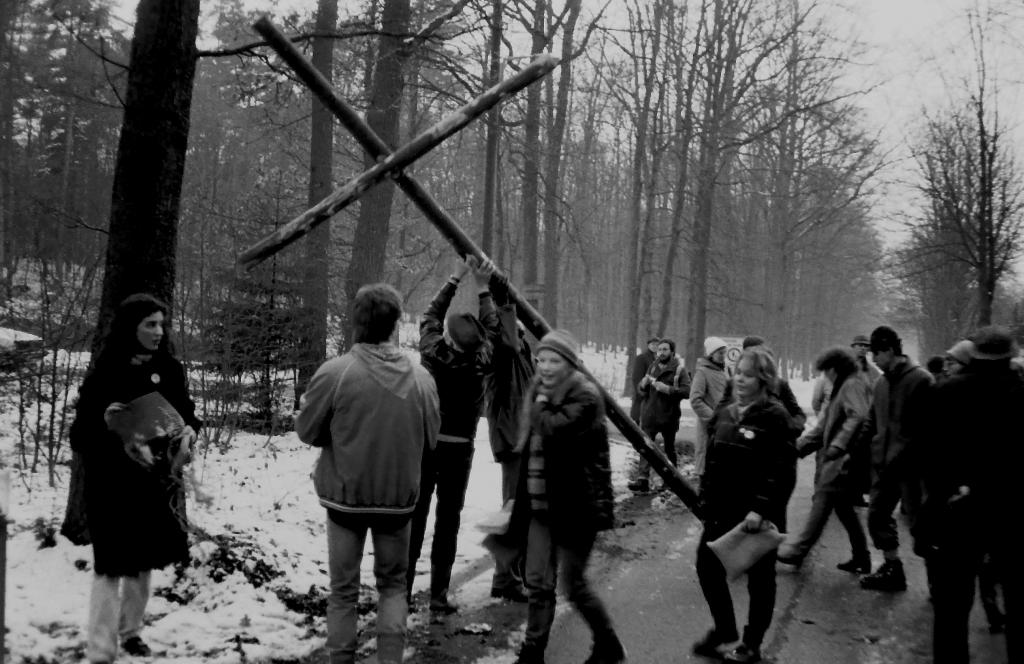 Kreuzweg 1985. Bild: Wolfgang Hain
