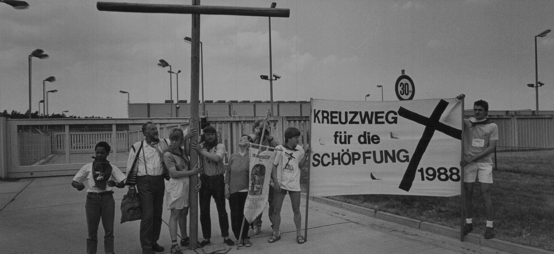 Kreuzweg 1988. Bild: Michael Meyborg